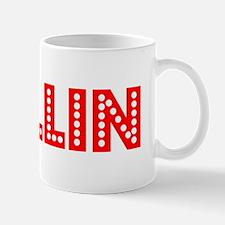 Retro Dallin (Red) Small Mugs