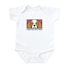 Anime Blenheim Cavalier Spaniel Baby Bodysuit