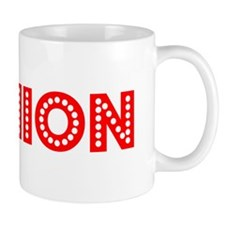 Retro Damion (Red) Small Mug
