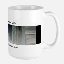 Loving the Feral Cat Logo Large Mug