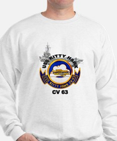 USS Kitty Hawk CV-63 Sweatshirt