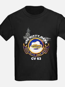 USS Kitty Hawk CV-63 T