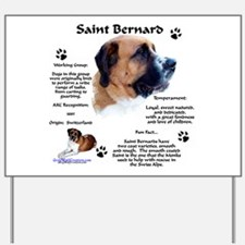 Saint 1 Yard Sign