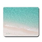 Bermuda beach Mouse Pads