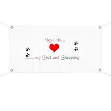 Shetland Love Banner