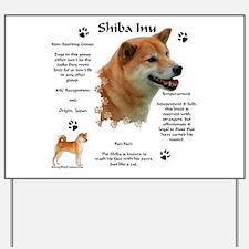 Shiba 1 Yard Sign