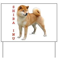 Shiba 2 Yard Sign