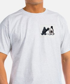 Skye Terrier Pocket Duo T-Shirt