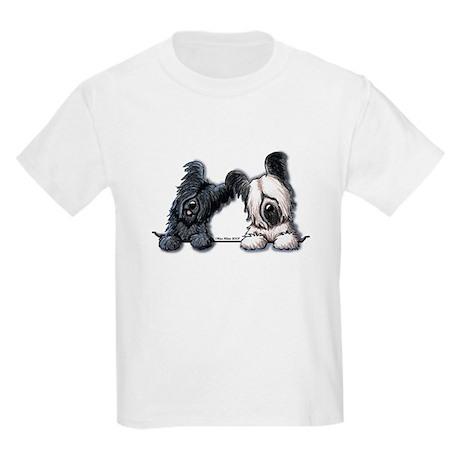 Skye Terrier Pocket Duo Kids Light T-Shirt