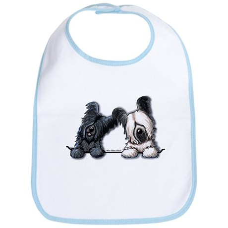 Skye Terrier Pocket Duo Bib