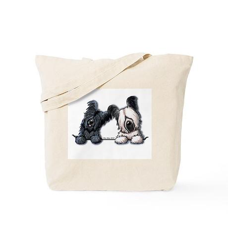 Skye Terrier Pocket Duo Tote Bag