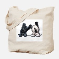 Skye Terrier Pocket Duo Tote Bag