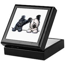 Skye Terrier Pocket Duo Keepsake Box