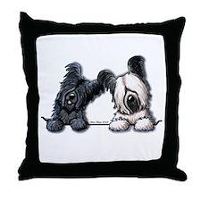 Skye Terrier Pocket Duo Throw Pillow