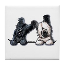Skye Terrier Pocket Duo Tile Coaster