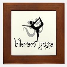 Bikram Yoga Framed Tile