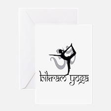 Bikram Yoga Greeting Card