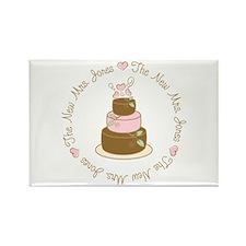 New Mrs. Jones Custom Cake Rectangle Magnet