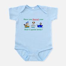 Beered you Boat Captain? Infant Bodysuit