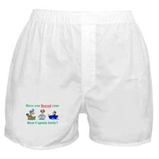 Beered you Boat Captain? Boxer Shorts