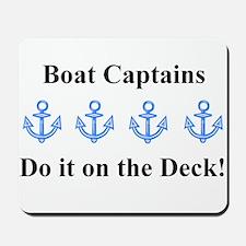 Boat Captains Mousepad