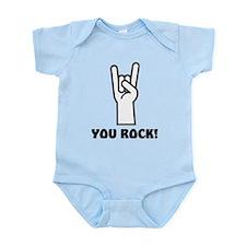You Rock Hand Infant Bodysuit