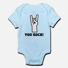 You Rock Hand Infant Bodysuit