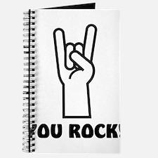 You Rock Hand Journal