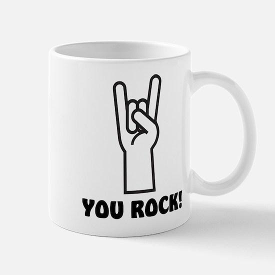 You Rock Hand Mug