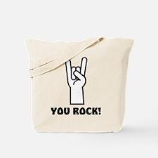You Rock Hand Tote Bag