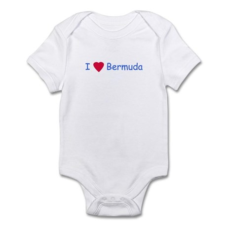 I Love Bermuda - Infant Creeper