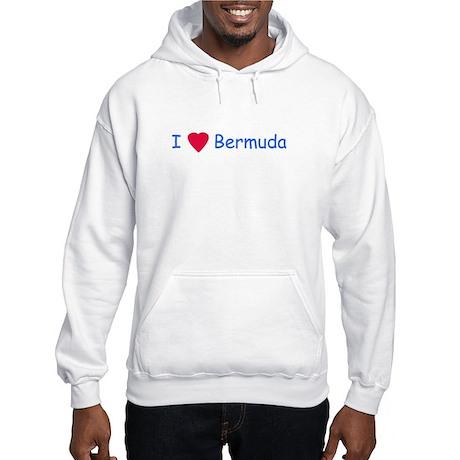 I Love Bermuda - Hooded Sweatshirt