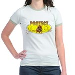 Protect your nuts Jr. Ringer T-Shirt