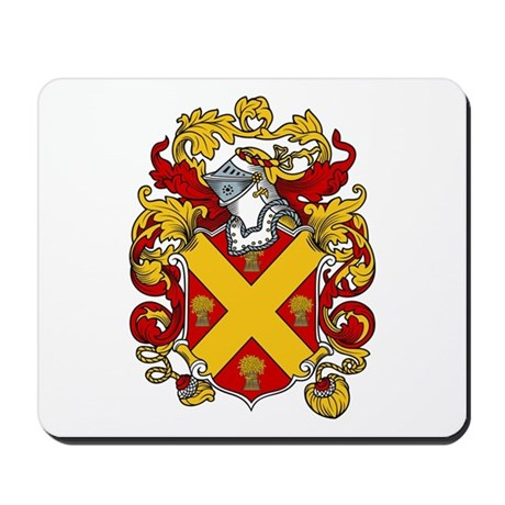 Read Family Crest Mousepad