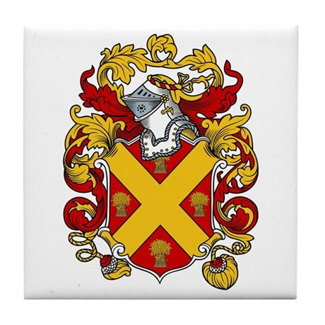 Read Family Crest Tile Coaster