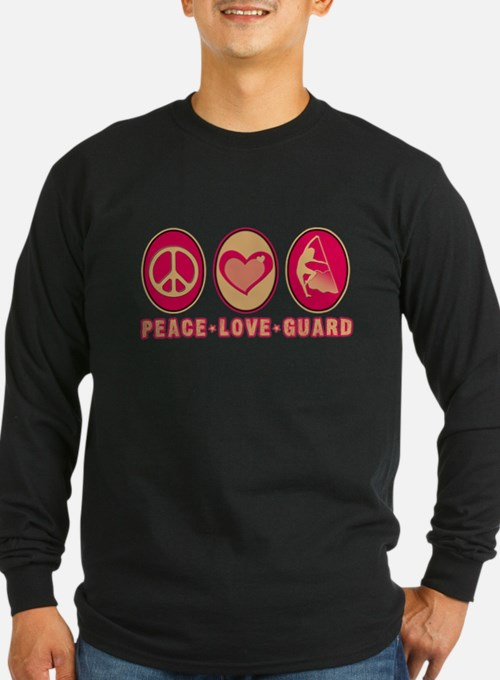 PEACE - LOVE - GUARD T