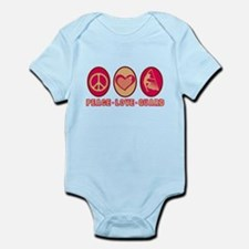 PEACE - LOVE - GUARD Infant Bodysuit