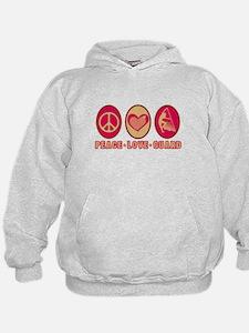 PEACE - LOVE - GUARD Hoodie