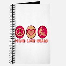 PEACE - LOVE - GUARD Journal