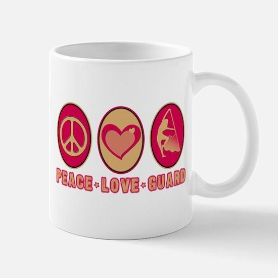 PEACE - LOVE - GUARD Mug