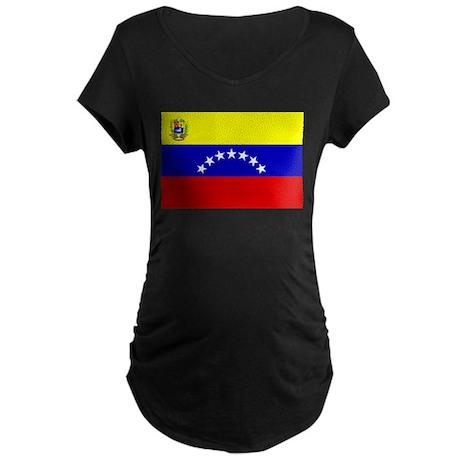 Venezuela 7 stars Maternity Dark T-Shirt