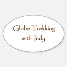Globe Trekking w/Indy Sticker (Oval)