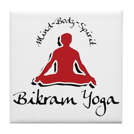 Bikram Yoga Tile Coaster