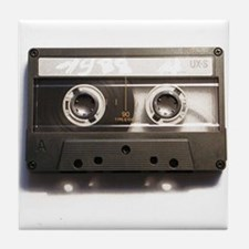 Cassette Tape 1980's Tile Coaster