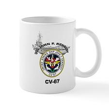 USS John F. Kennedy CV-67 Mug