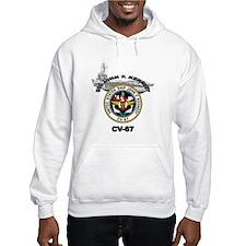 USS John F. Kennedy CV-67 Hoodie Sweatshirt