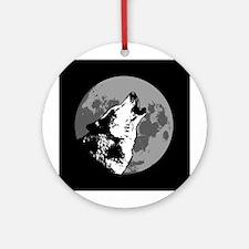 Howlin' Wolf Ornament (Round)
