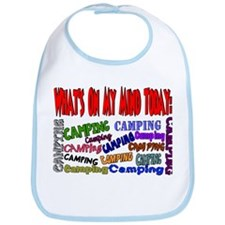 What's on my mind: Camping Bib
