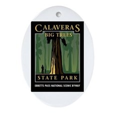 Calaveras Big Trees - Oval Ornament