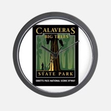 Calaveras Big Trees - Wall Clock